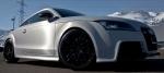 Audi TT silber matt gebürstet front